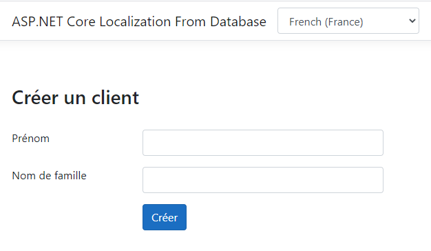 ASP.NET Localization Loading French Language Strings from Database