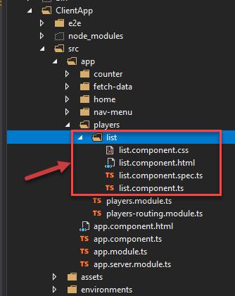 Angular Component Generated using Angular CLI