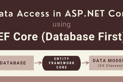 Data Access in ASP.NET Core using EF Core (Database First)