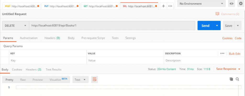 Delete Entity using ASP.NET Web API