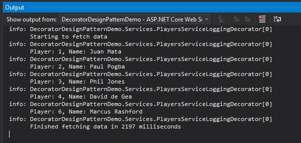 Logging Decorator in ASP.NET Core 5