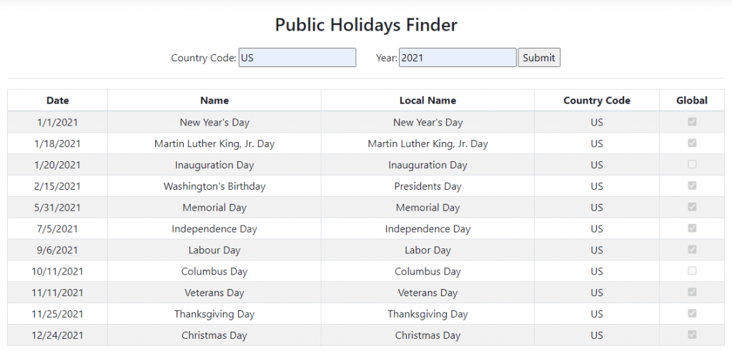Public-Holidays-Finder-Application-with-ASP.NET-Core-and-Third-Party-API