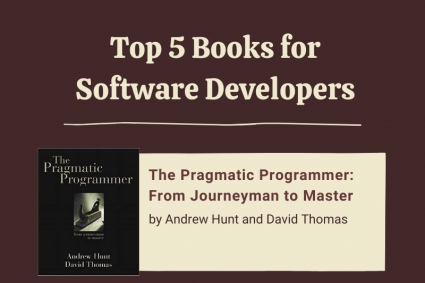 Top 5 Books for Software Developers (Infographic)