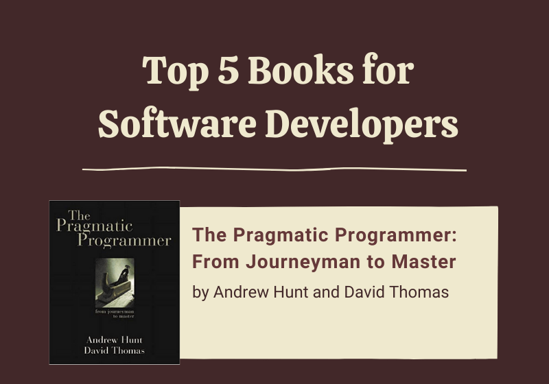 You are currently viewing Top 5 Books for Software Developers (Infographic)