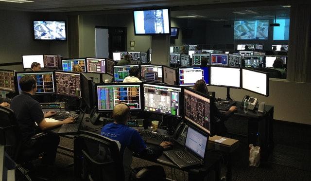 air traffic control room