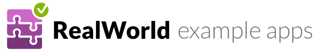 RealWorld - example apps using different frontend and backend technologies